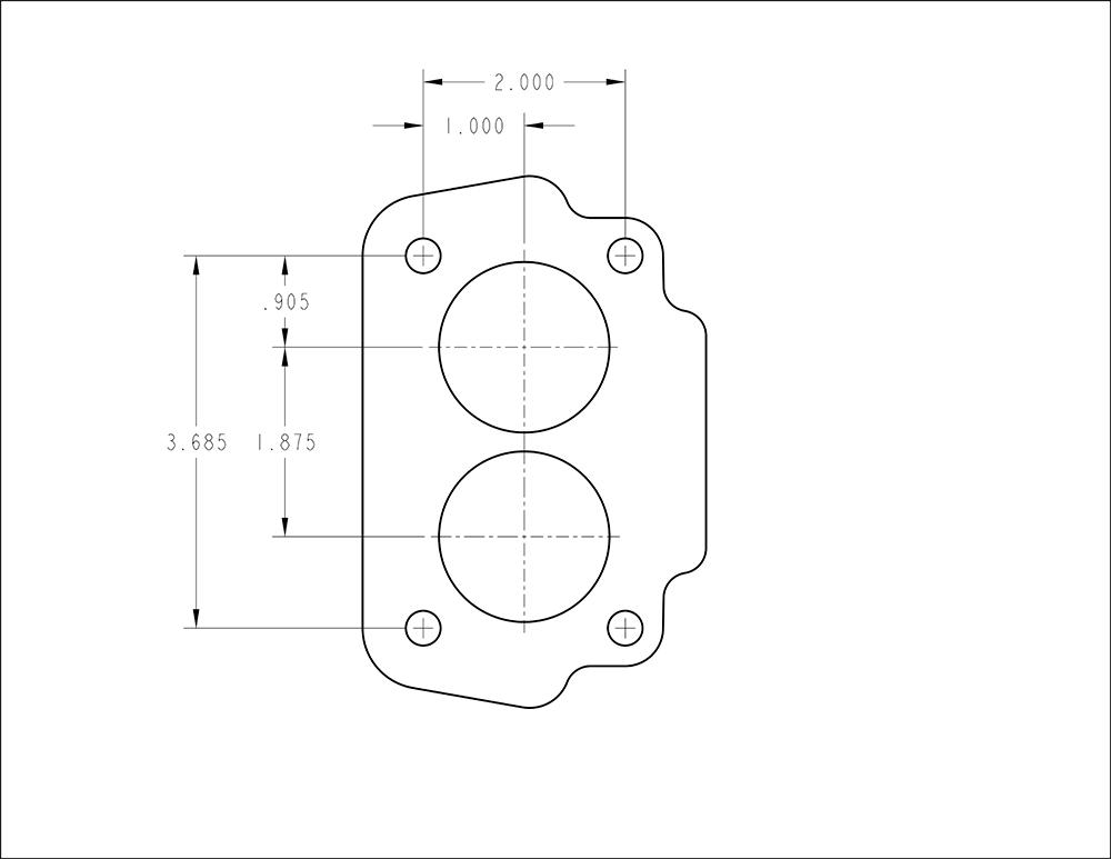 Carburetor Flange Guide Holley Motor Life