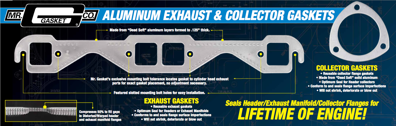 Aluminum Exhaust Gasket diagram image