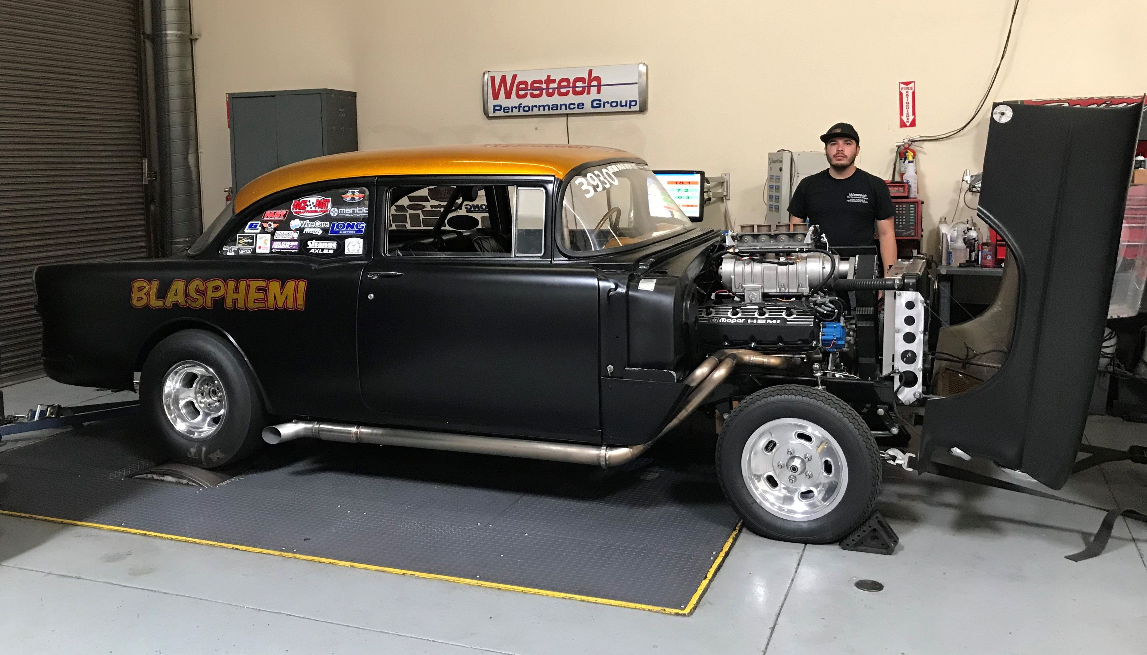 1955 Chevy Fuel Tank Wiring Diagram Database Chevrolet Holley Efi Powers Mike Finnegan S Incredible Blasphemi 55 Schematics