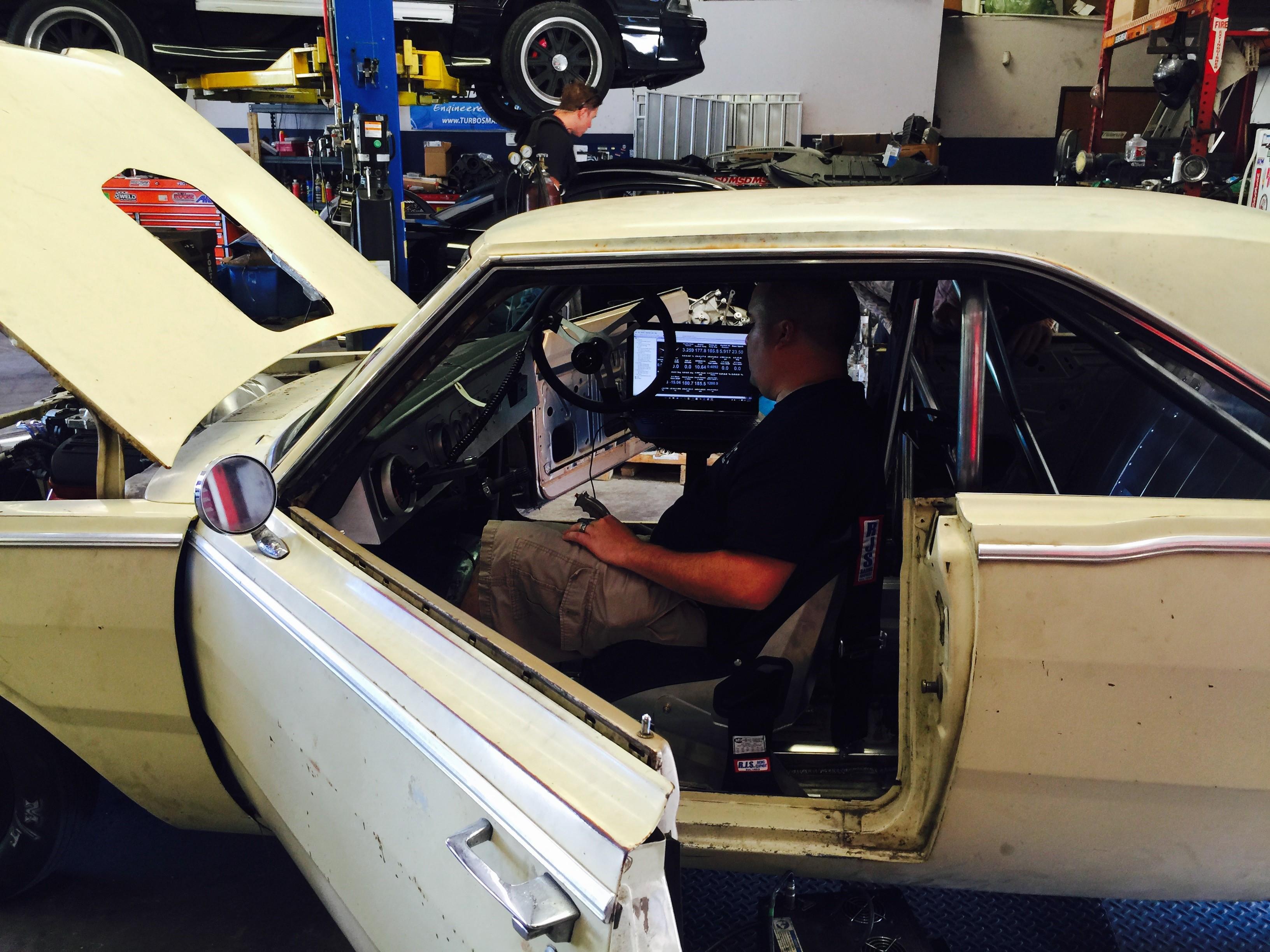 DiabloSport Helps Gas Monkey build winning Hellcat Swap car