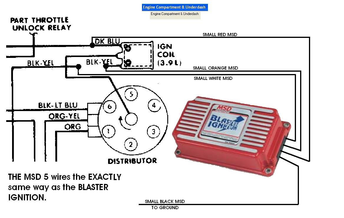 Msd 6al Hei Wiring Diagram - Wiring Diagram and Schematic Design