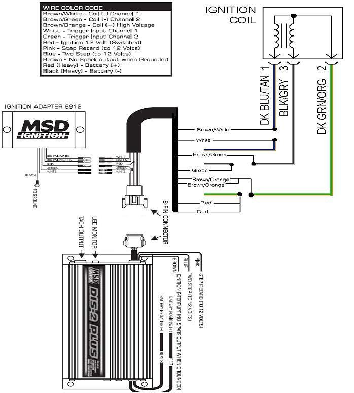 msd dis 2 wiring diagram wiring diagram and schematic design ignitions msd performance s tech support 888 258 3835 wiring diagram