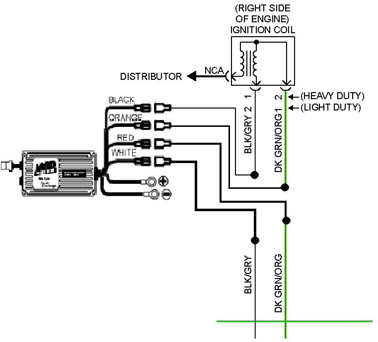 msd ignition box wiring diagram msd ignition wiring diagram solidfonts how to install an msd 6a digital ignition module on your