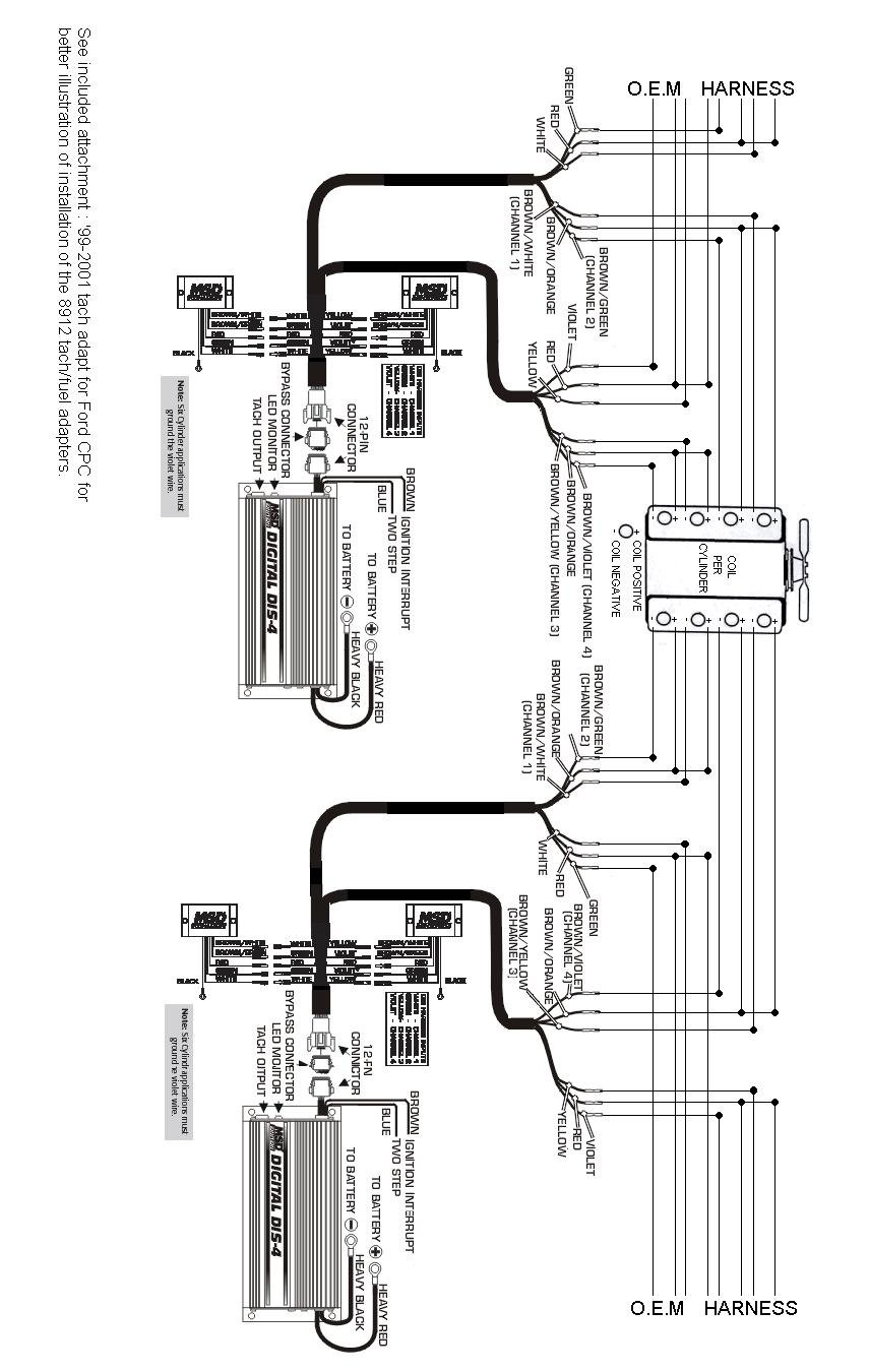 msd digital dis 4 wiring diagram   32 wiring diagram