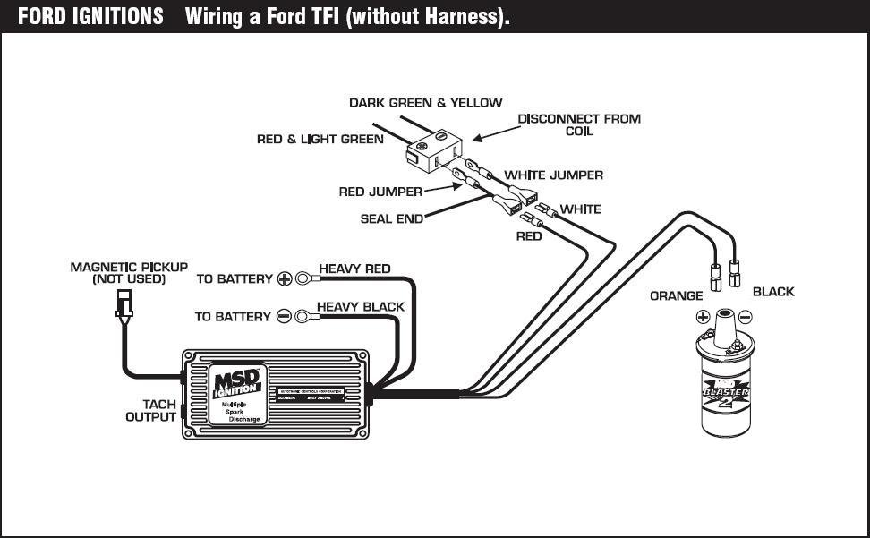 tfi 6 blaster 2 - msd blog ford msd ignition wiring diagram #3