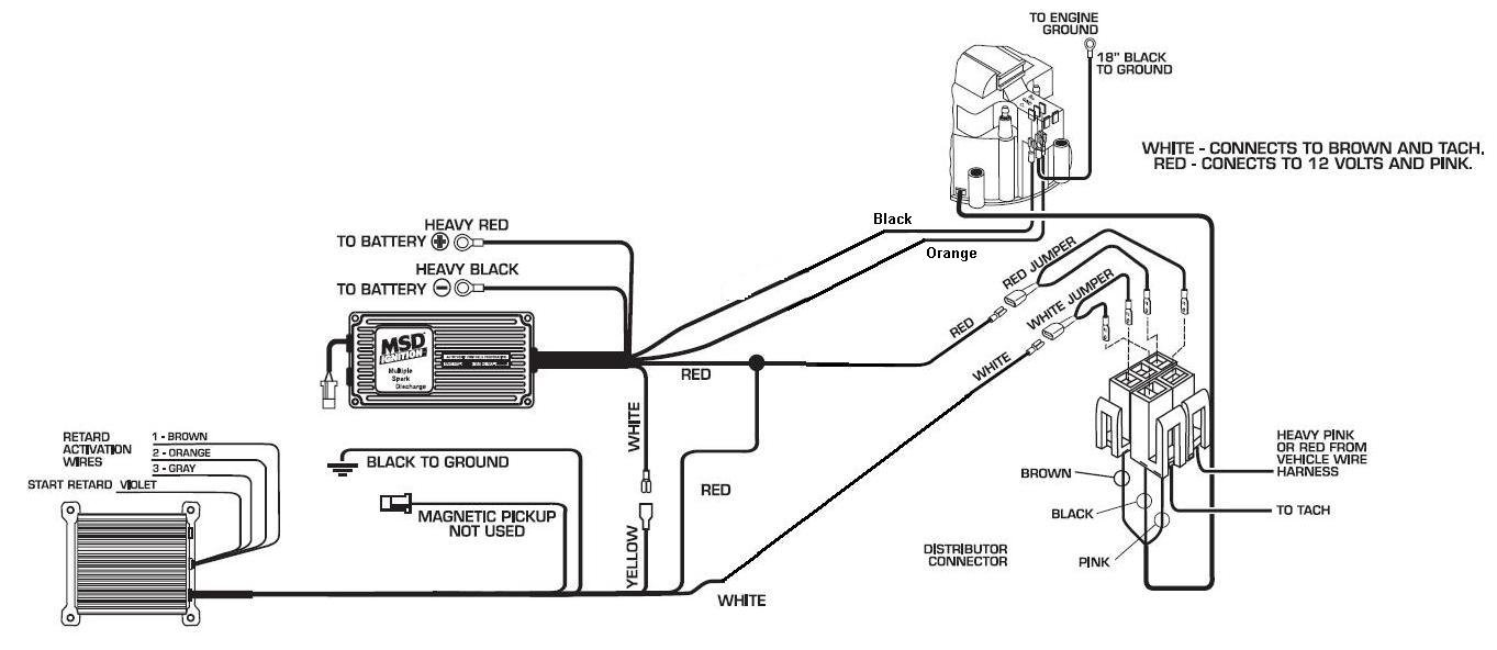 hei distributor plug wiring diagram 5 pin hei timing control 6 msd blog chevy hei distributor module wiring diagram
