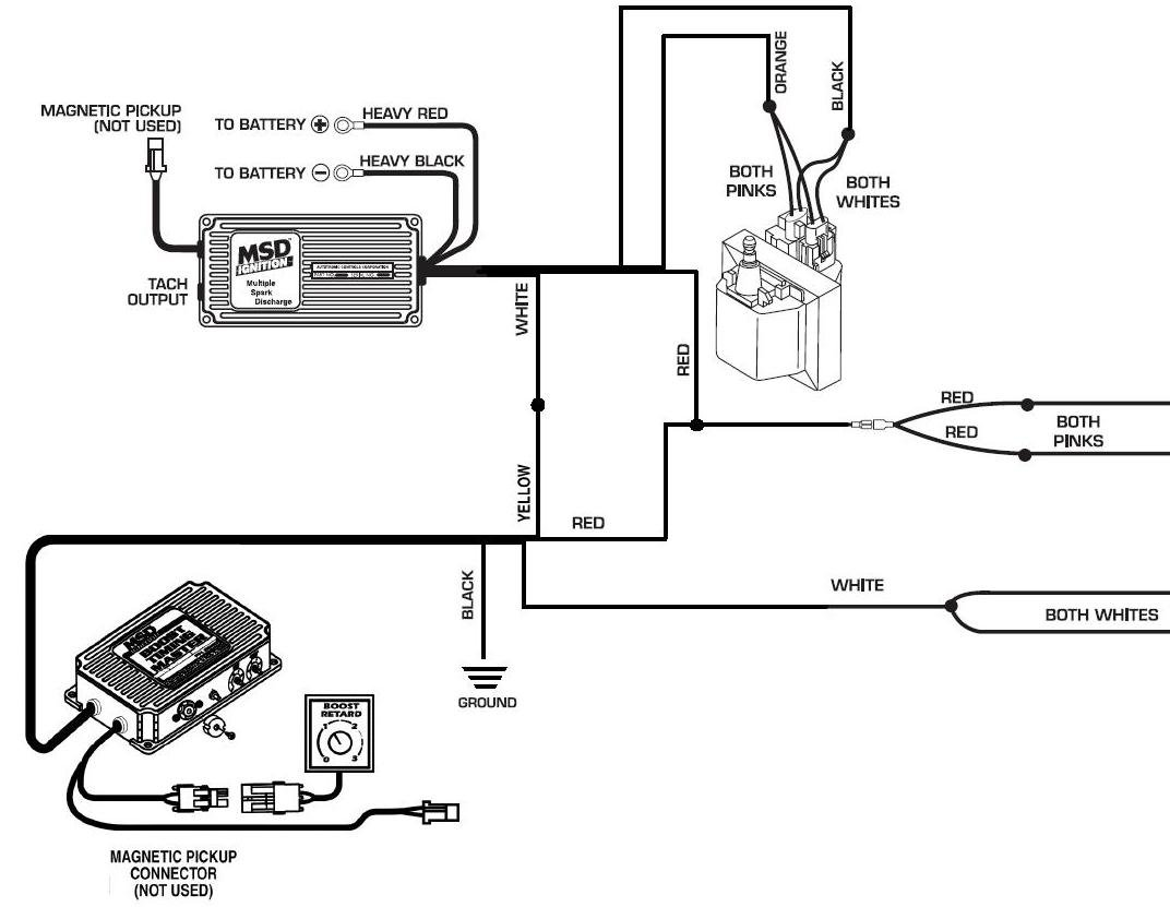 Msd 6btm Wiring Diagram Schematics Transmission 6 Btm Gm Dual Connector Holley Blog Mallory 6al