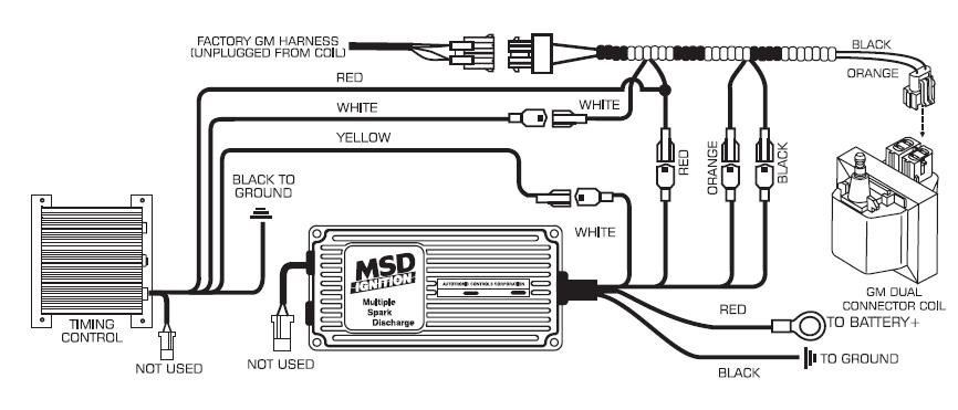 msd ignition wiring diagram chevy solidfonts full msd system not firing hot rod forum hotrodders bulletin board