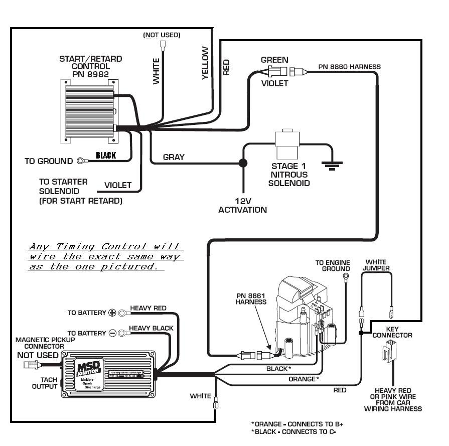 Accel Distributor Wiring Diagram, Accel, Free Engine Image
