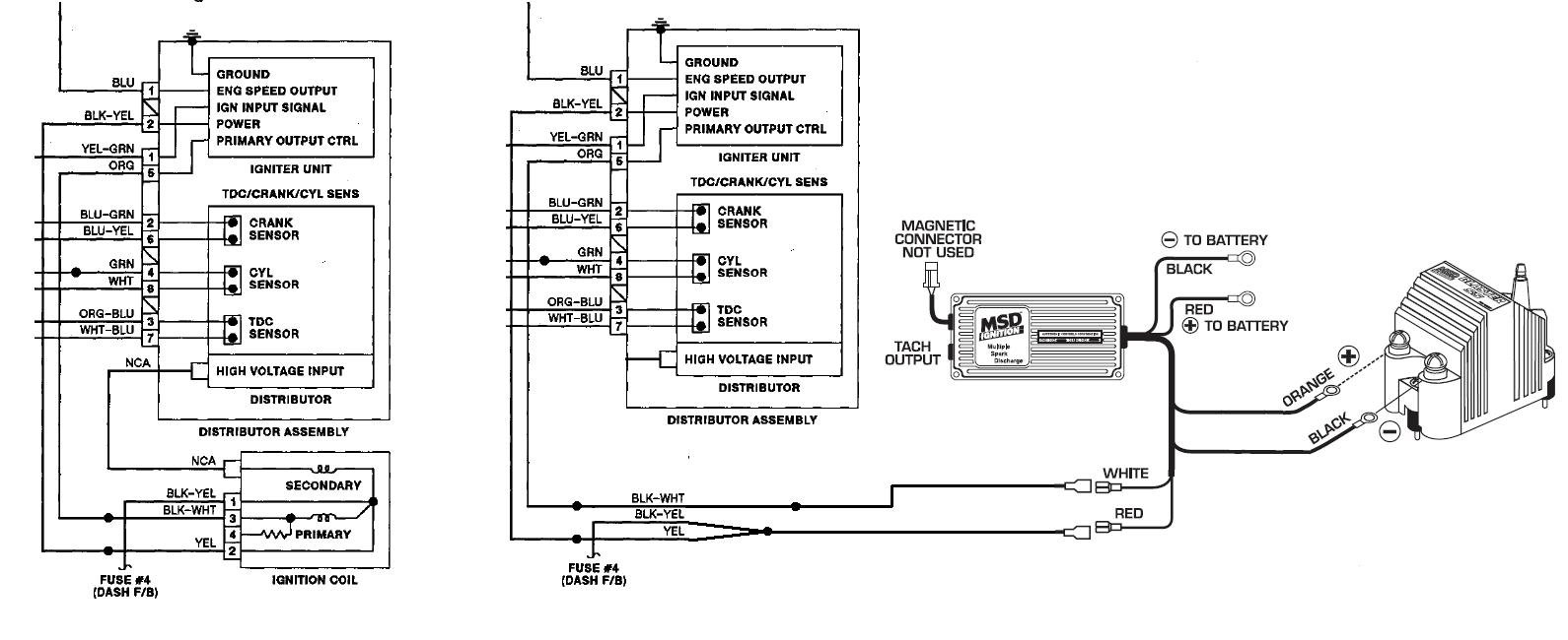msd blaster ss wiring diagram wirdig series and a blaster ss coil on msd blaster ss coil wiring diagram