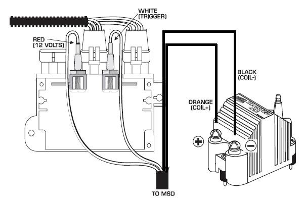msd coil wiring diagram wiring diagram and hernes the ins and outs of an msd ignition system onedirt
