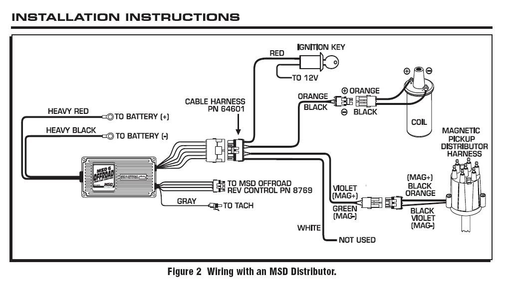 mag blaster coil msd blog blog diagrams and drawings 6 series marine and offroad 6470 mag blaster coil jpg this diagram illustrates wiring up an offroad ignition