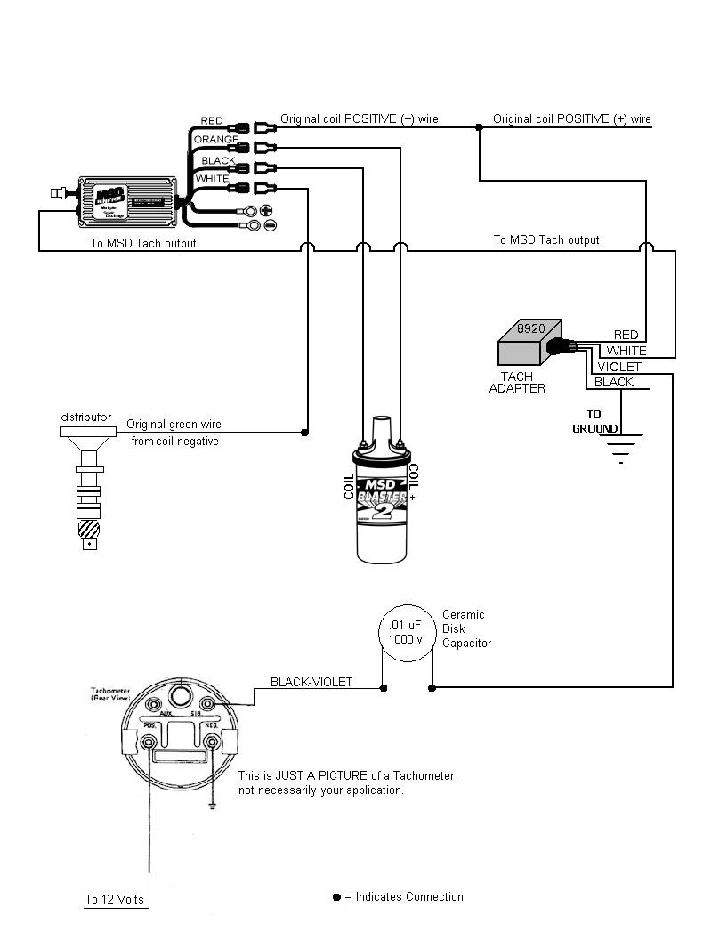 [DIAGRAM_38YU]  1C940 Msd 8920 Tach Adapter Wiring Diagram | Wiring Resources | Denso Alternator Wiring Diagram Tach |  | Wiring Resources