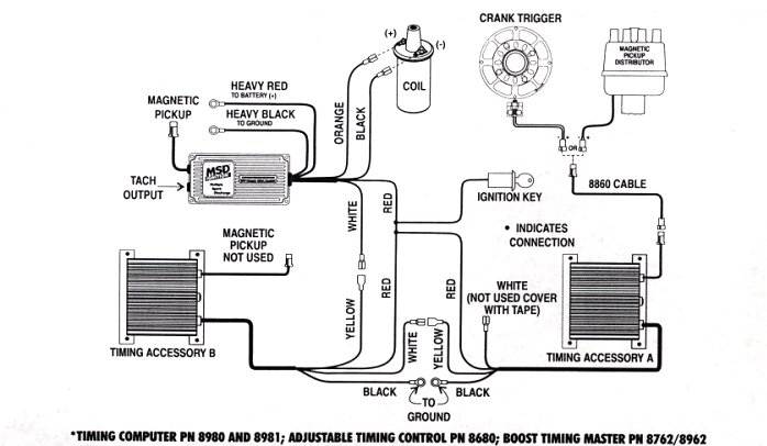msd 8860 harness wiring diagram  wiring diagram