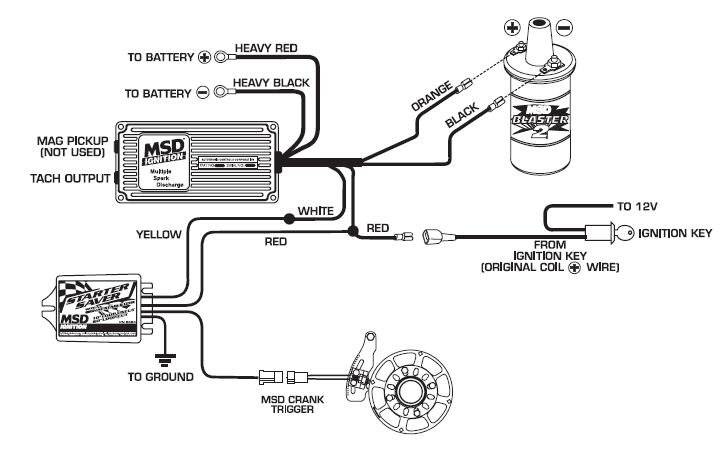 Wiring Diagram Msd Starter Saver