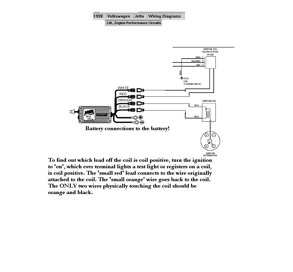 1998 Volkswagen Jetta 20l Holley Blog Red Jacket Wiring Diagram