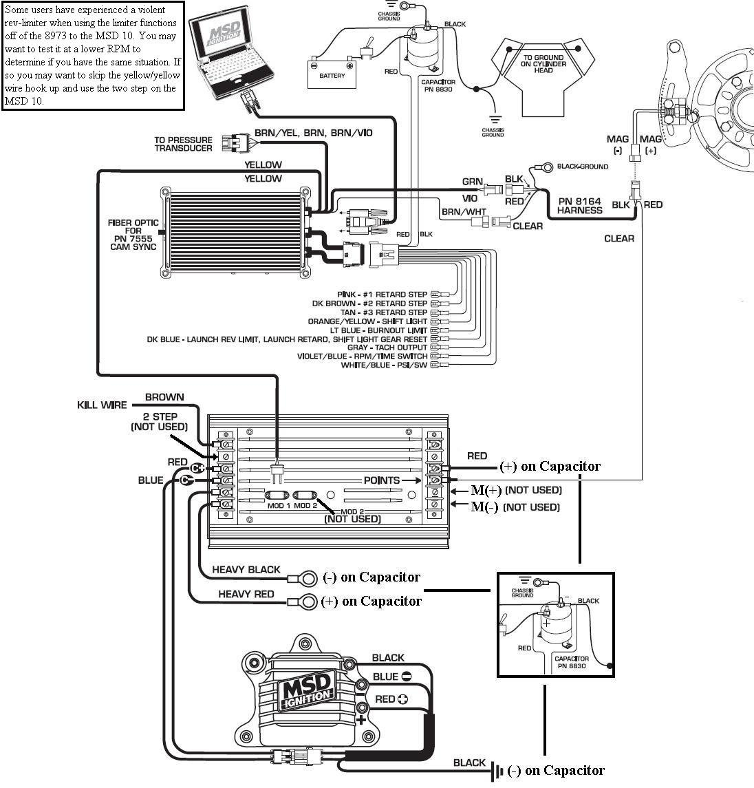 msd 6aln wiring diagram schematics and wiring diagrams distributor crank trigger timing control mustang ii work msd installation