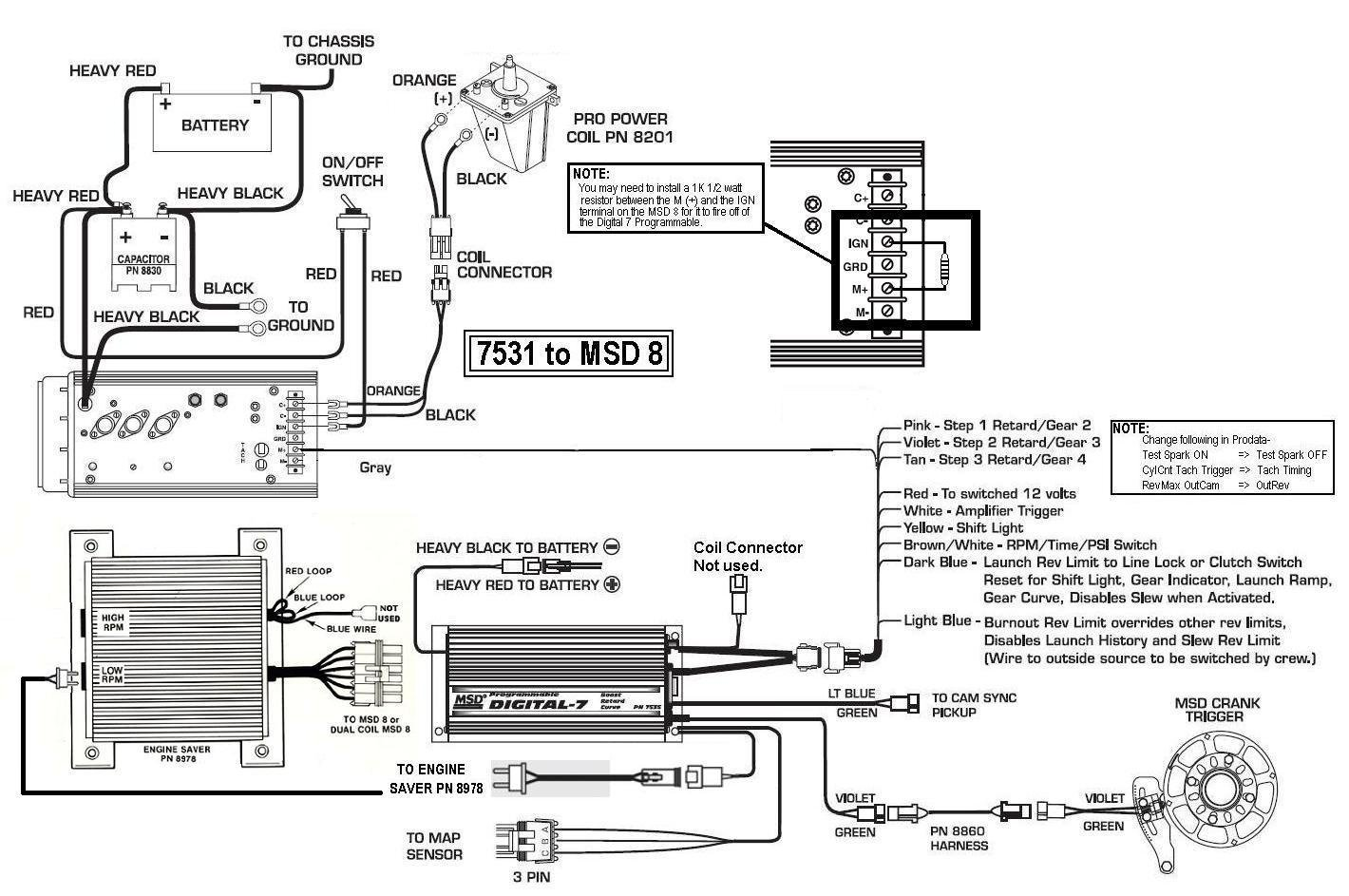 7531 msd 8 - holley blog msd digital 6a wiring diagrams ford msd digital 6 wiring diagram