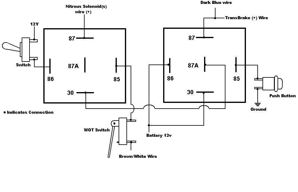 2 step nitrous latching relay 7531 msd
