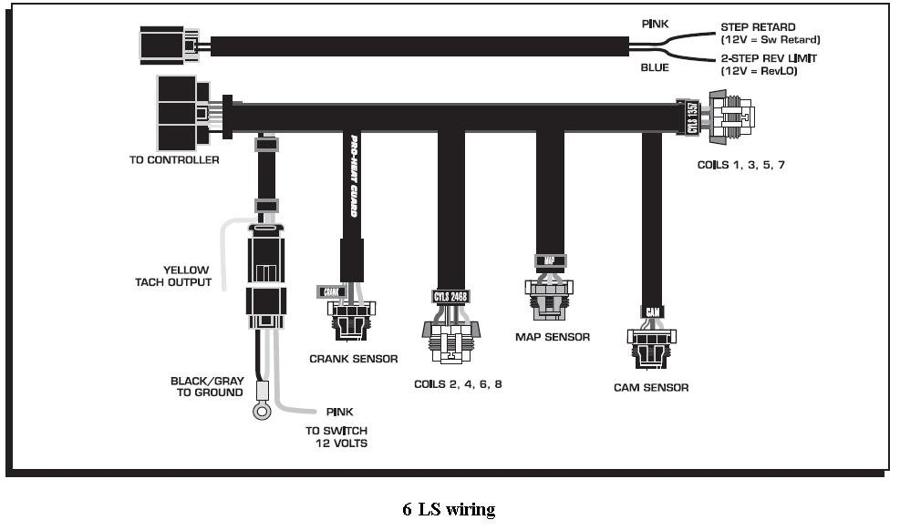 6ls wiring holley blog rh holley com Ford MSD Ignition Wiring Diagram MSD 6AL Wiring Diagram Chevy