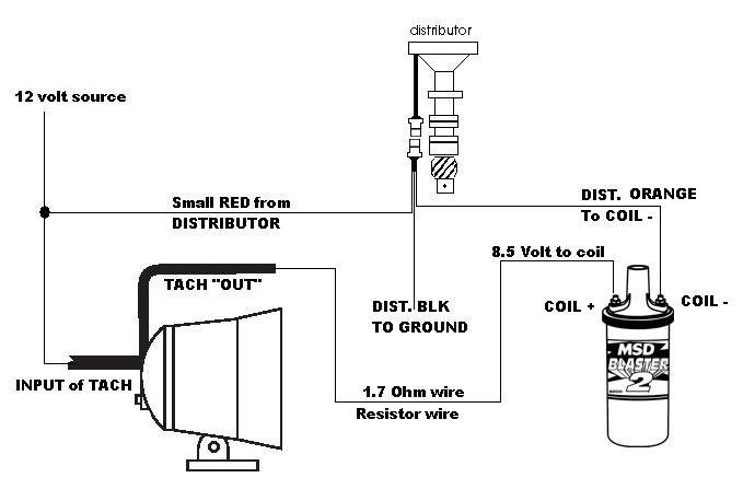 msd ready to run distributor wiring diagram