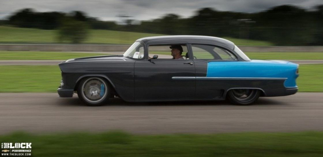 X-Box: A \'55 Chevy Becomes a Modern Day Supercar - Holley Blog