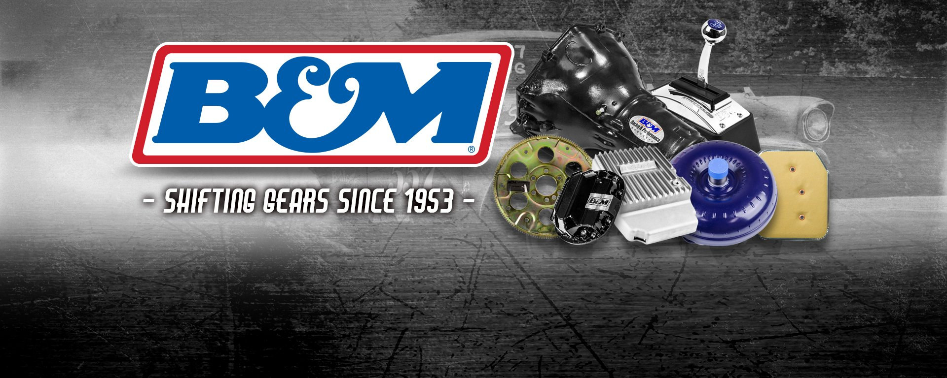B&M - Transmissions, Shifters, Torque Converters, Diff Covers, Coolers
