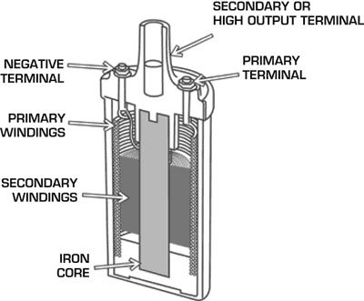 Typical Coil Cutaway