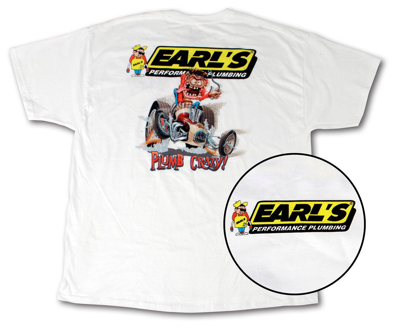 Earls 10001-XXXLERL Earl/'s Retro T-Shirt