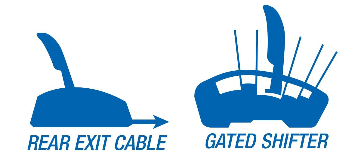 B&M Automatic Gated Shifter - Street Bandit