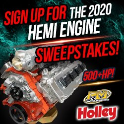 2020 Hemi Engine Sweepstakes