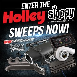 Sloppy Mechanics Sweepstakes