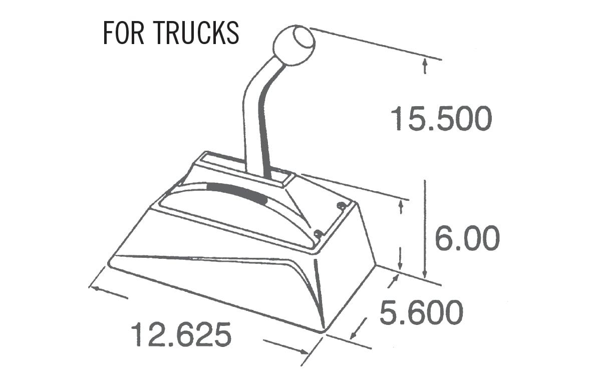 Hurst 3838500 Hurst Pro-Matic 2 Ratchet Shifter