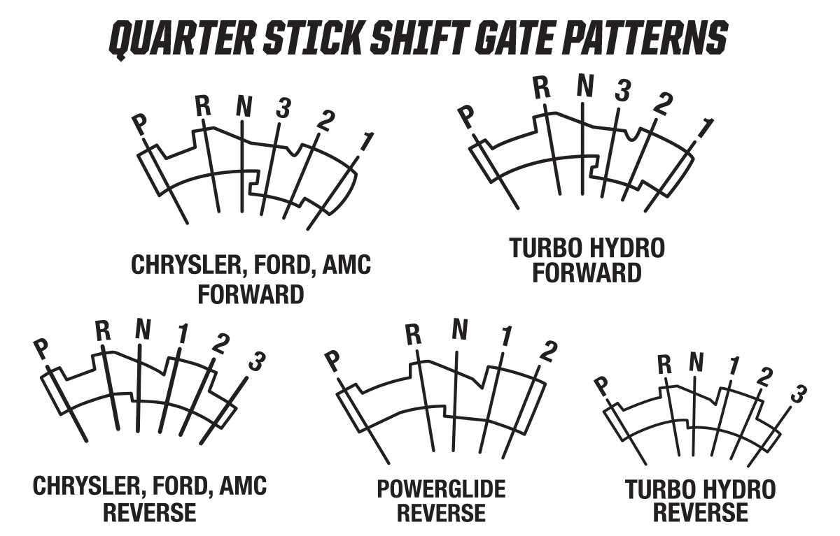 Hurst Quarter Stick Race Shifter