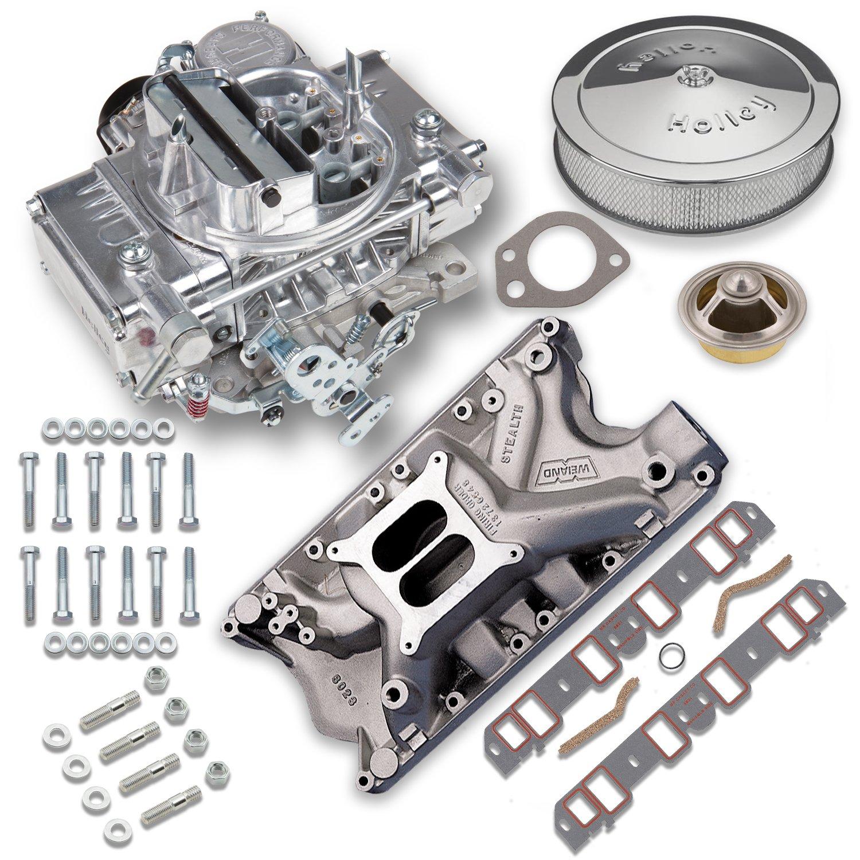 Carburetor Intake Manifold : Holley vk  cfm street warrior carburetor and ford