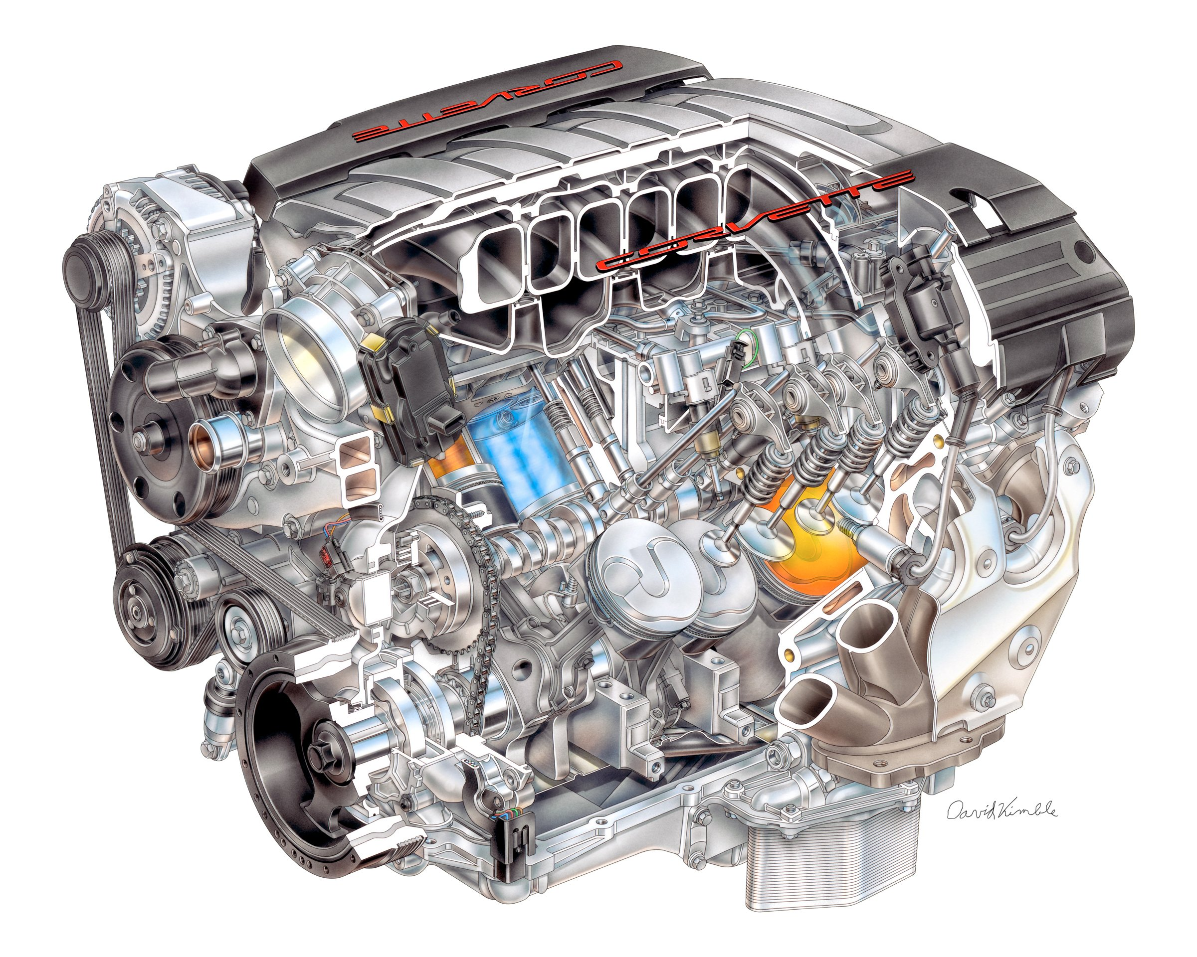 Everything You Want To Know About The Gm Gen V Lt Engine Holley Motor Life