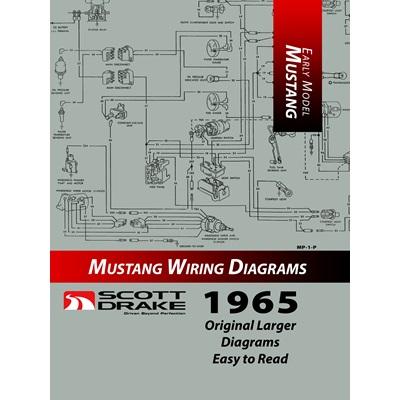 scott drake 1965 pro wiring diagram manual large format