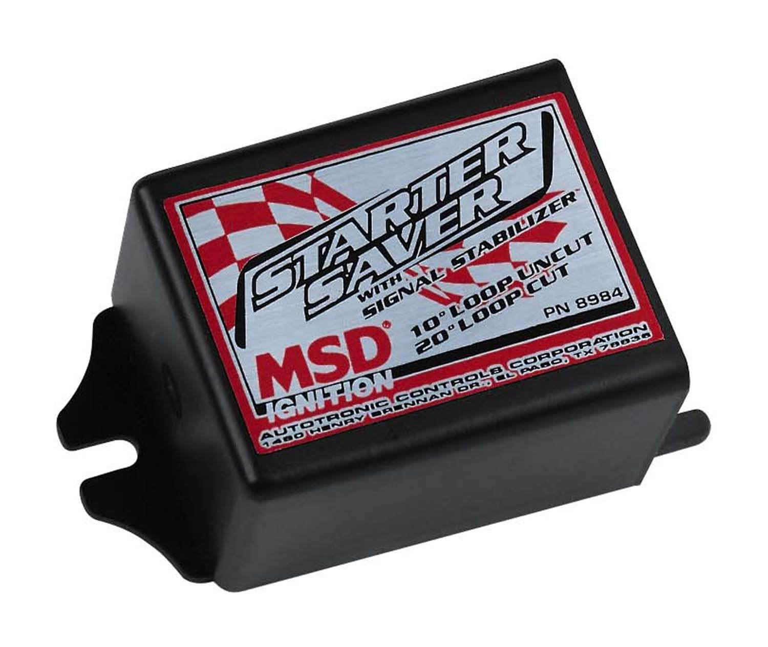 Msd Starter Saver Wiring Diagram Digital 6al Box Combination Ignition 8984 W Signal Stabilizer Performance Products Chevy