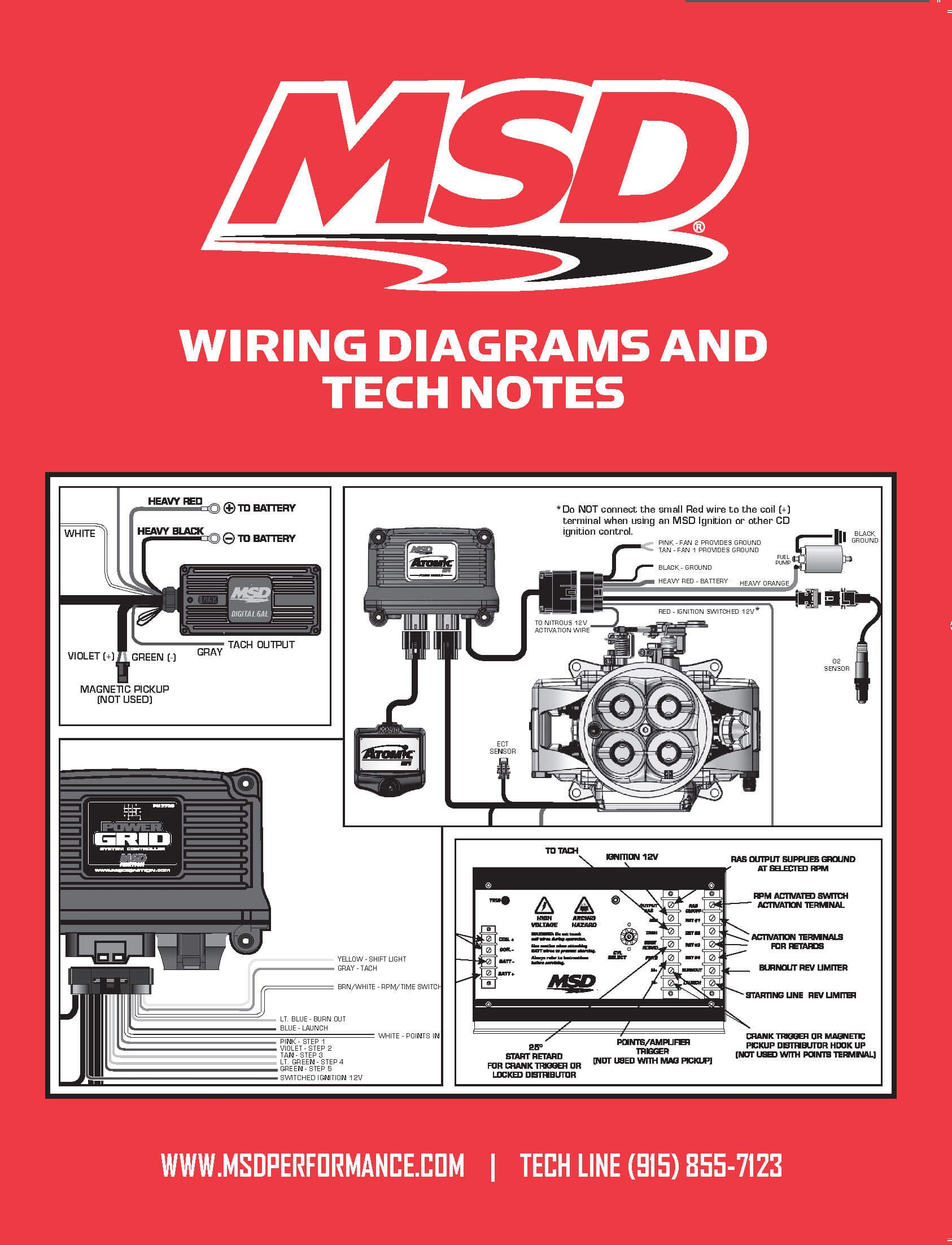 Msd 9615 Wiring Diagrams And Tech Notes Mallory Ignition Diagram Magneto Image