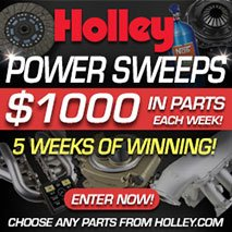 Holley Power Sweeps