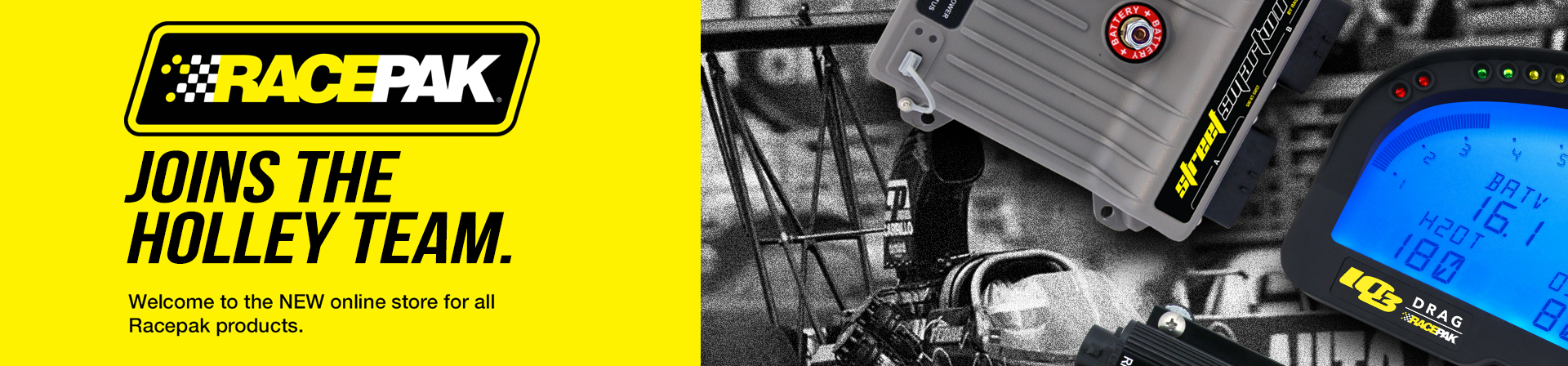 RacePak | Official Website | A Holley Performance Brand