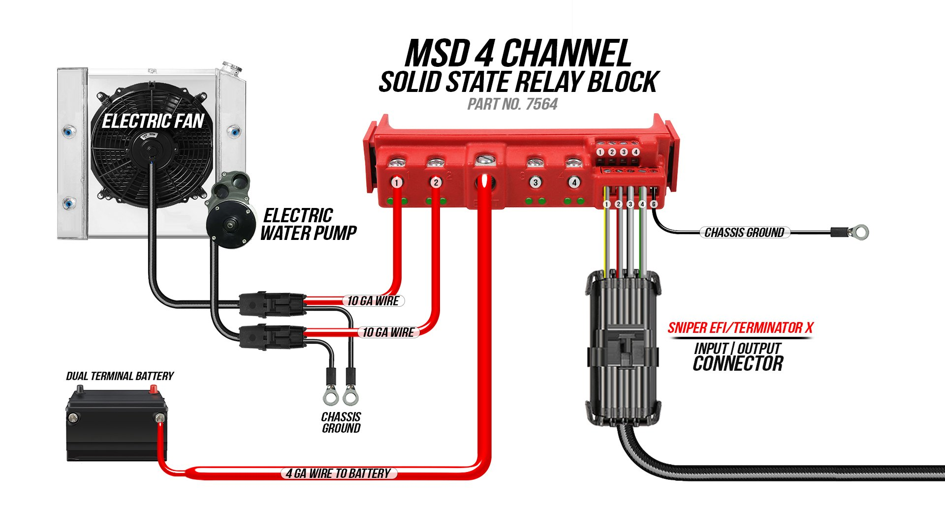 Solid State Relay Wiring Diagram from images.holley.com