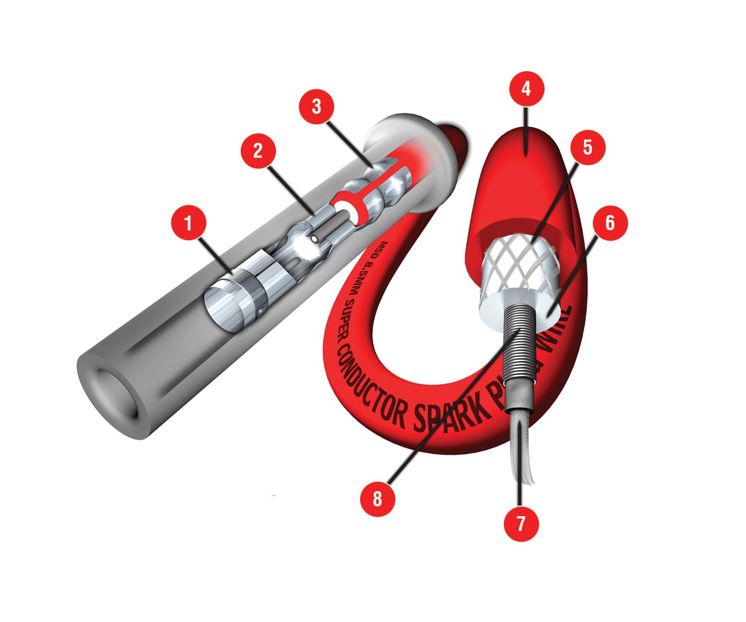 Spark Plug Wires Diagram Image