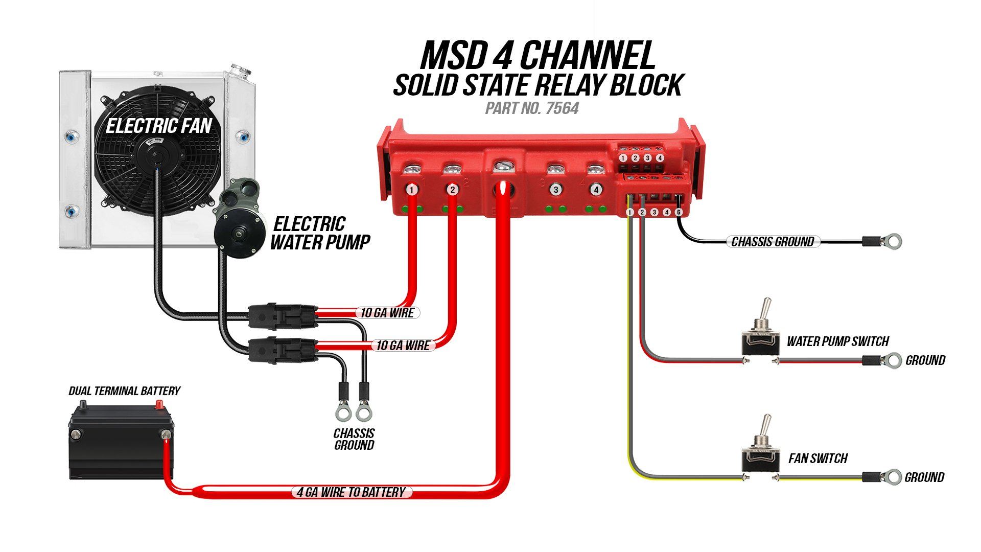 Msd 7564 Stand Alone Solid State Relay