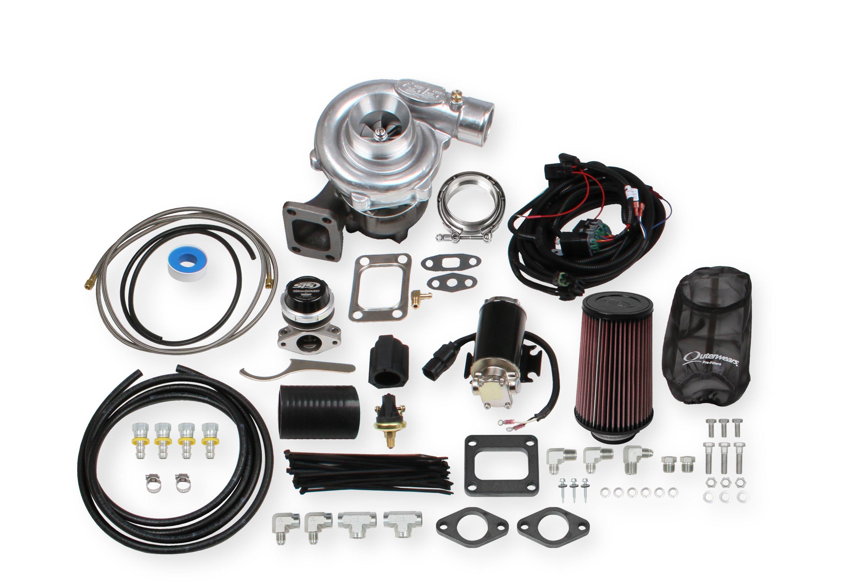 STS Turbo Remote Mount Multi Fit Single Turbo Kit