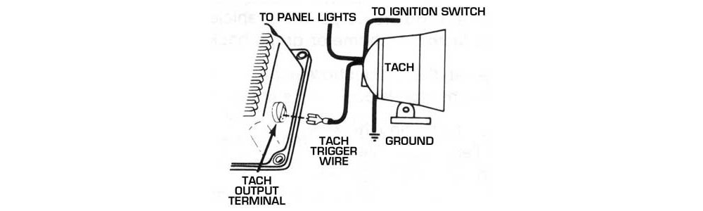 tach_4 msd tech symptoms troubleshooting tehniques for msd performance aftermarket tachometer wiring diagram at virtualis.co
