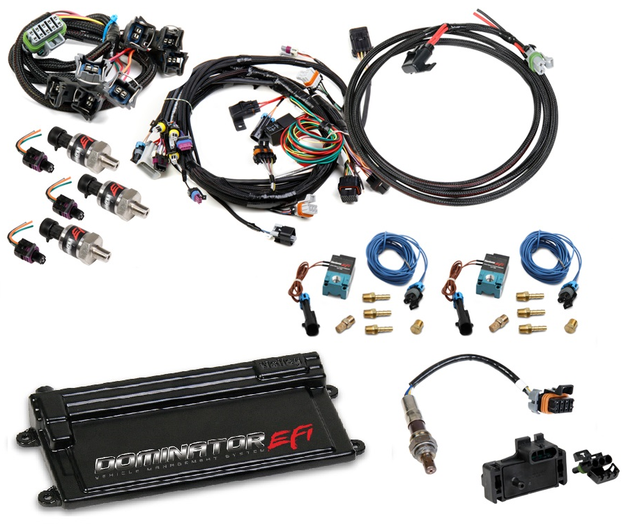 LS2 / LS3 / LS7 (58X/4X) Dominator EFI Kit Holley Ls Wiring Harness on