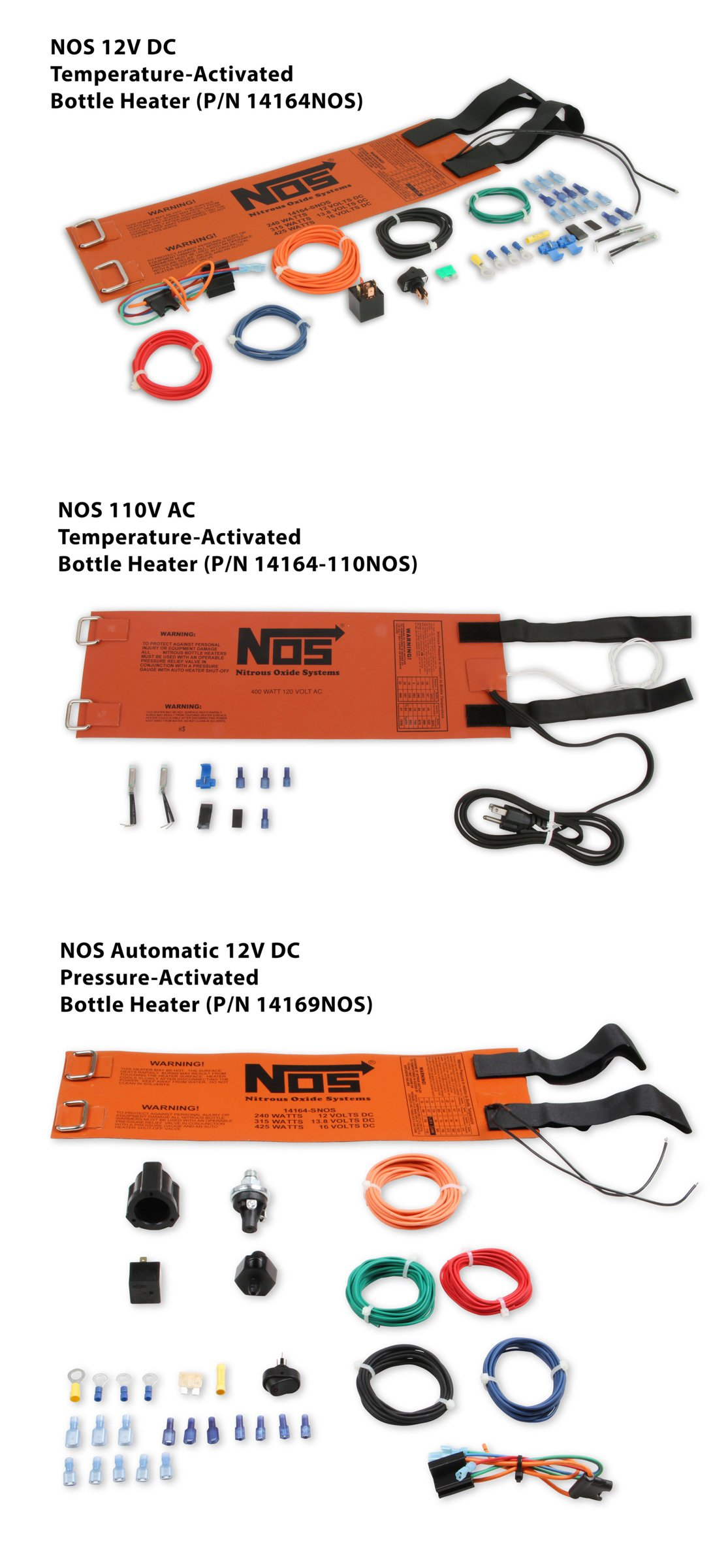 NOS Bottle Heaters layout