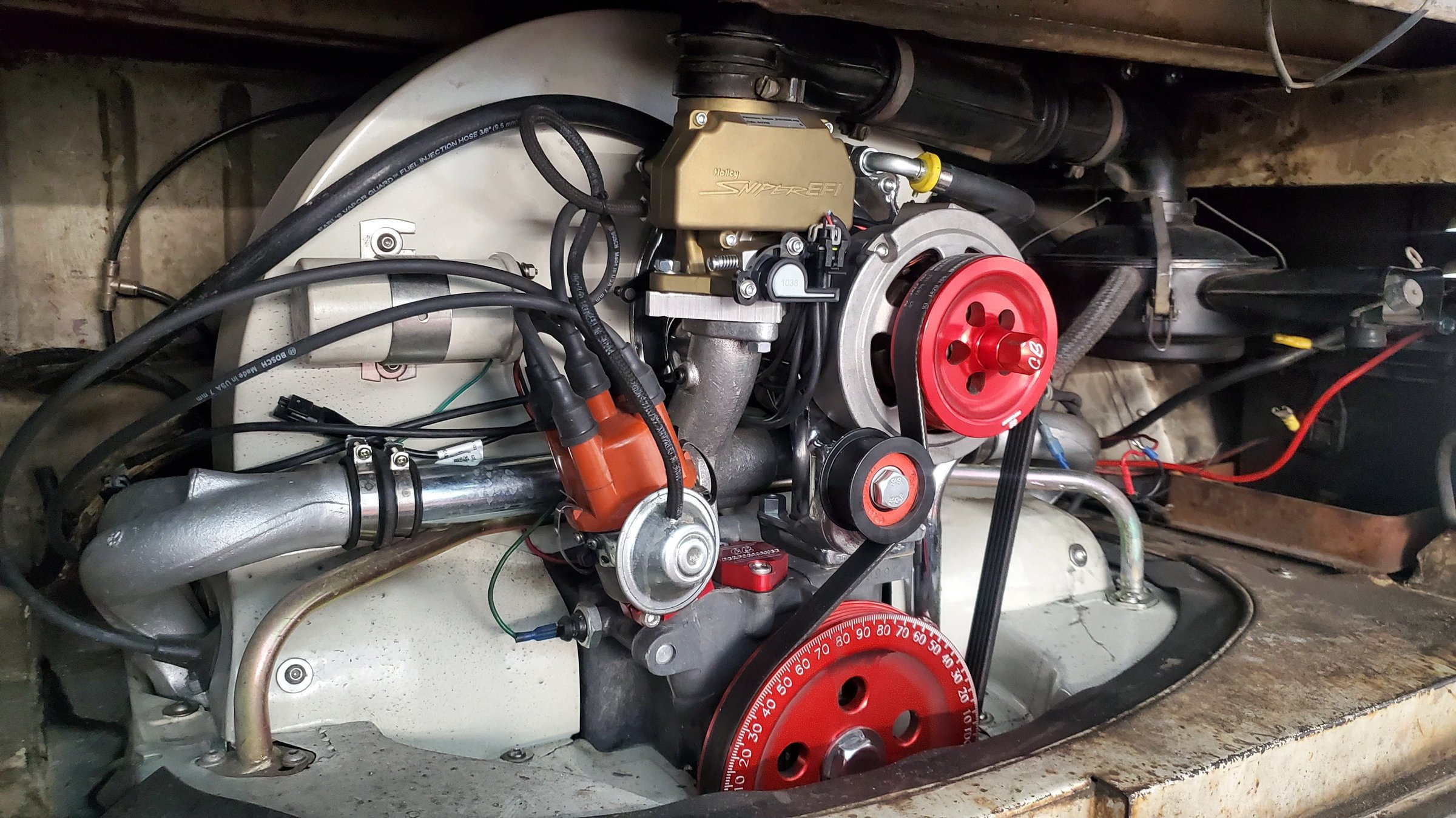 Red E Motorsports VW 2200 with Sniper EFI