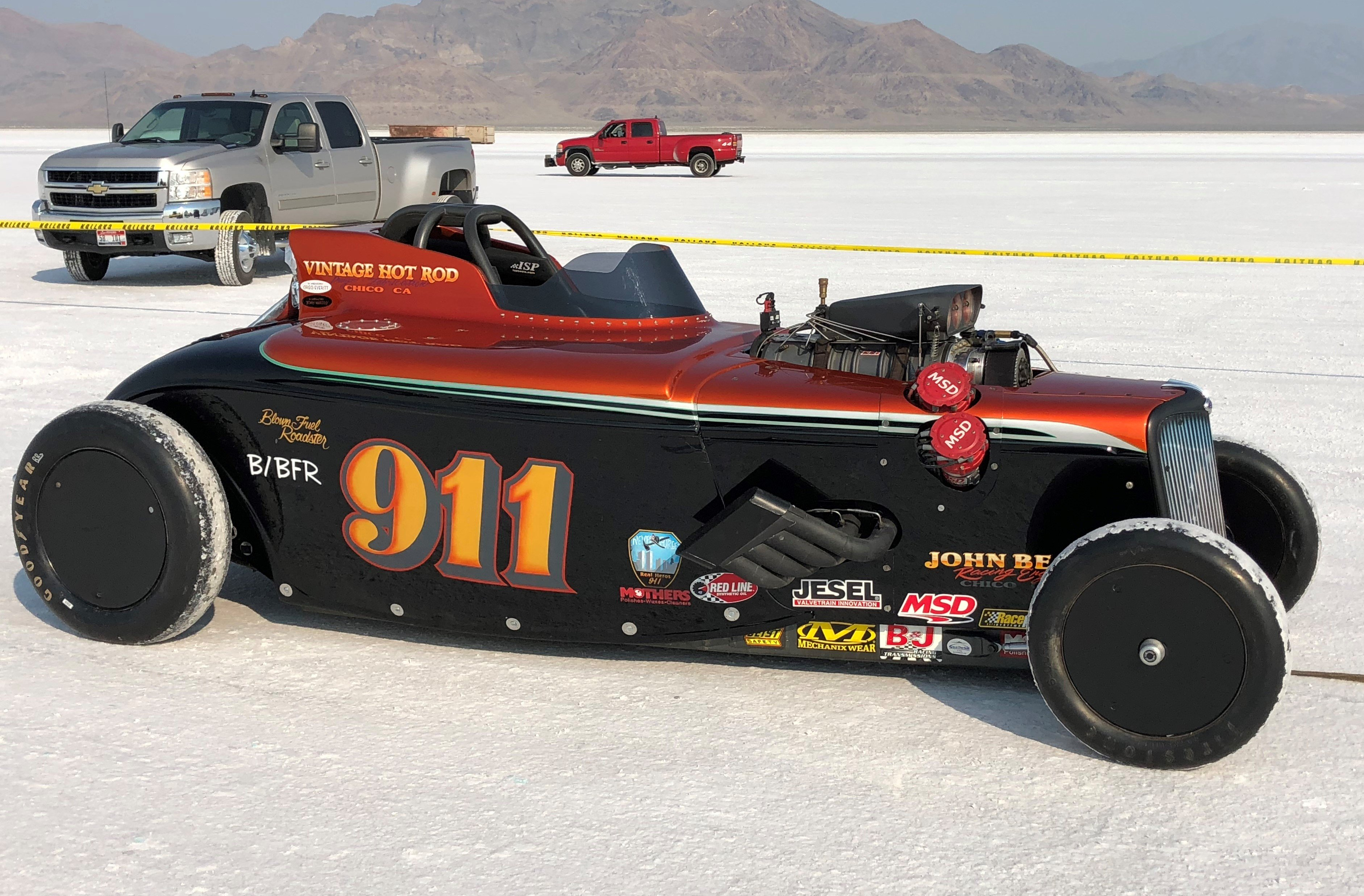 Holley-Powered Cars Smash Records Again at Bonneville Speed